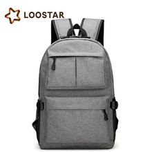 Low MOQ new outdoor sports campus students usb charging anti theft smart laptop backpack bag