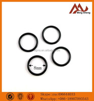 8mm inner size black nickle fashion metal O ring