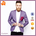 Skinny Fit Blazer/ men lapel jacket/ clothing supplier china/ wholesale apparel model- sc288