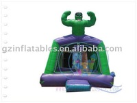 2011 {Qi Ling} Hulk Inflatable Bounce
