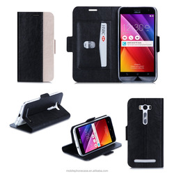 Guangzhou Hot Sale Magnet PU Leather case for Asus Zenfone 2 ZE500KL