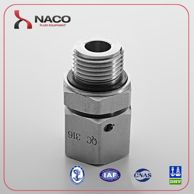 Stainless steel swivel joint Transition Pipe Fittings for water and oil and gas industry