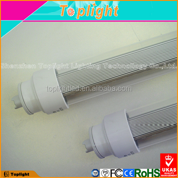 LED lighting 360 degree replacement fluorescent R17D 8FT T10 Double sided LED tube light