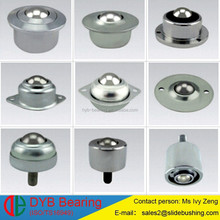zinc-plated carbon steel conveyor ball transfer units price/ball transfer unit with thread term/Nylon ball transfer unit caster