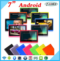 7 Inch Quad Core Android Tablet With Wifi Bluetooth Camera 1024*600 Resolution