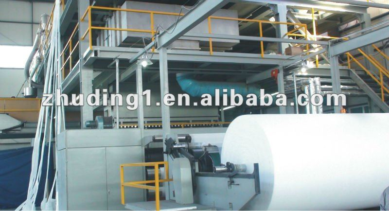 SMS/SMMS PP spunbonded Nonwoven fabric making machine product line