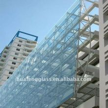 building Tempered Glass exterior curtain Wall