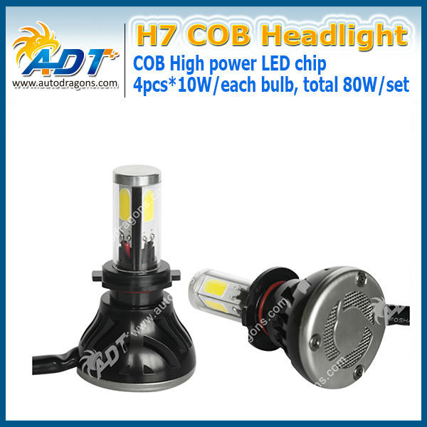 DC9V~36V auto led headlamp work for BMW for Audi cars, no error code headlihgt