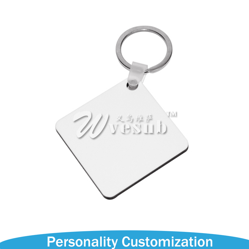 2017 New Products Sublimation Blank KeyRing