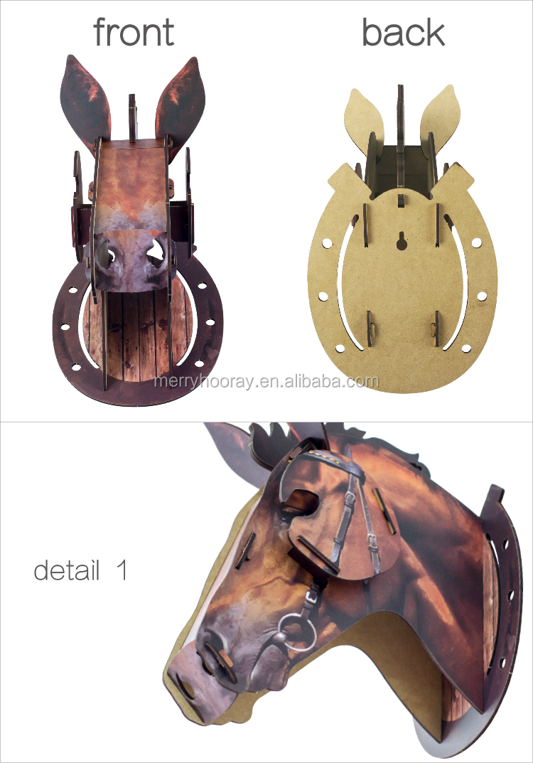 Novel beauty home horse decorations with different animal for Horse decorations for home