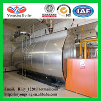 China automatic WNS horizontal commercial steam boiler