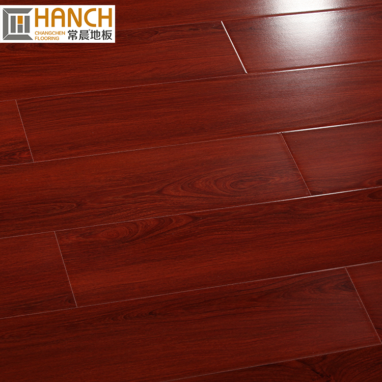 High gloss AC3 12mm dream home fire resistant laminate flooring manufacturer home decoration accessories