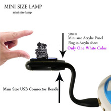 Muslim RAMADAN MUBARAK LED Night light Decoration Bedroom Illusion Sleep Light Mini Flexible USB laptop base Christmas Gift