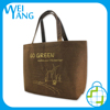 reusable recycled design Non Woven shopping hand coustom logo web food packaging bag