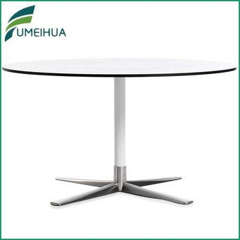 white hpl high pressure resin dining table top for sale