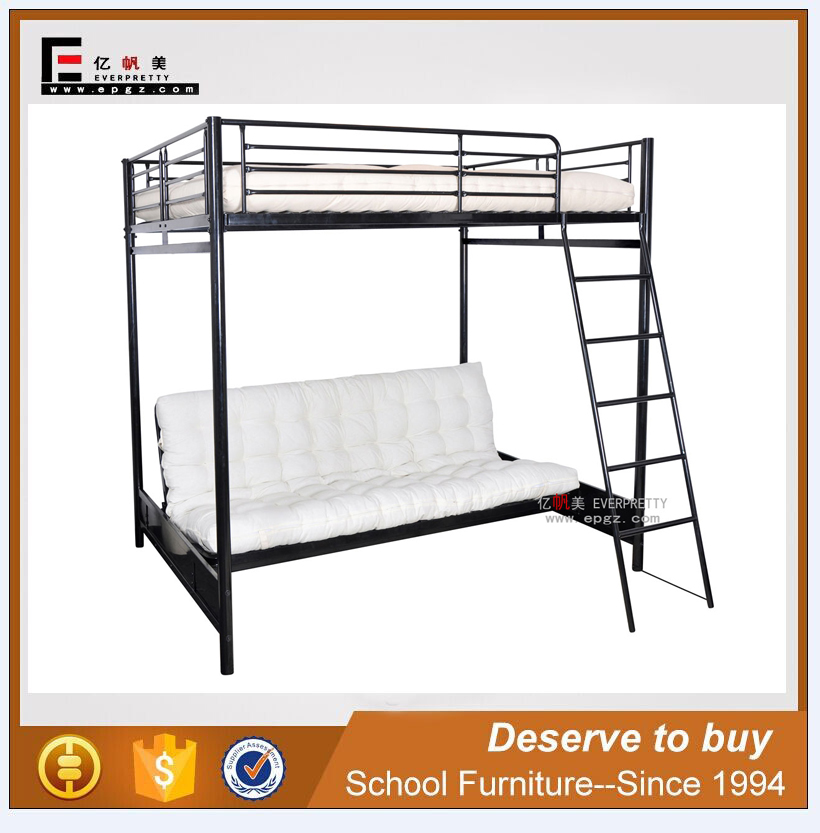 Wrought Iron Furniture Sofa CUM Bed, High Quality School Furniture Supplier
