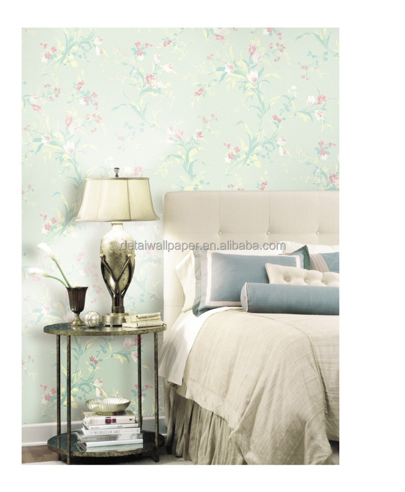 HOTSALE 3D design wallpapers style/3D flowers wallpapers/3d pvc wall paper