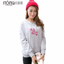 Factory directly sale winter mama nursing breastfeeding t shirt for women