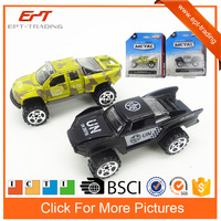 1 64 scale free wheel metal car toy diecast truck models