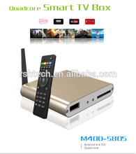 Android smart tv box with india channel iptv box Android 4.4 quadcore 2160p xbmc full hd 1080p porn video streaming tv box