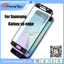 9H Hardness 2.5D Round Edge ExplosionProof Tempered For Samsung Galaxy S6 / S6 samsung galaxy s6 edge screen protector