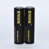 Strongly Recommended! Newest Enook rechargable battery 18650 3200mah 40A 3.7V Black battery with good quality for e-cigs!!