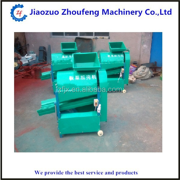 Industrial chestnut sheller peeler peeling chinese chestnut thorn shell machine