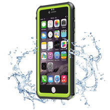 Slim transparent phone waterproof case for iphone 6 6s