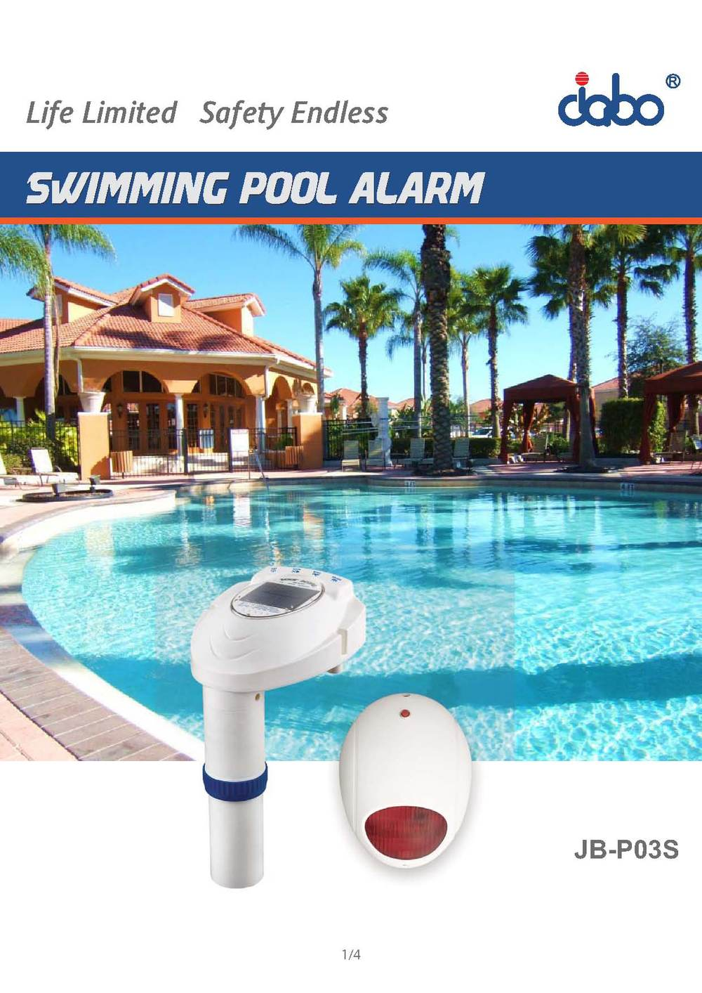 Safety And Reliable Swimming Pool Alarm For Child Guard