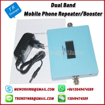 New Arrival Dual Band 850Mhz 1800Mhz CDMA DCS Mobile Signal Repeater Support Indoor And Outdoor