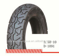 Best selling and high quality tubeless tyre for motorcycle 3.50-10