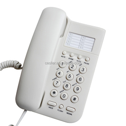 Shenzhen ABS analog telephone for hoels,landline corded phone