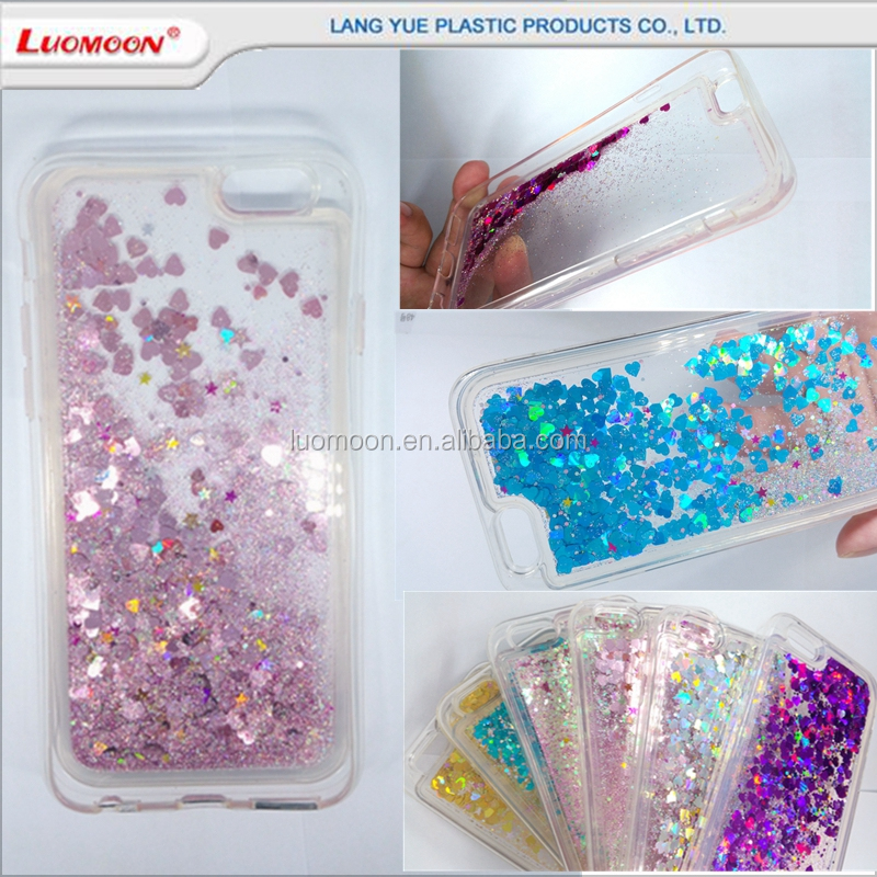 creative luxury moving liquid glitter tpu back case cover for huawei honor 4c y625 C8813 Y220T C8833/Y300