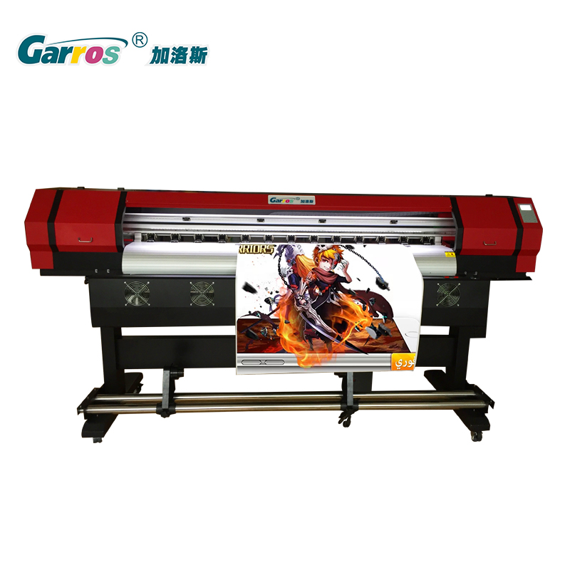 1.8m Digital Inkjet Signage Signs Eco Solvent Printer Price with DX5 DX8 XP600 Printhead