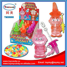 Hot summer toys the colorful bubble water Cola container bubble water Cute monkey Shape Whistle Soap Bubble water