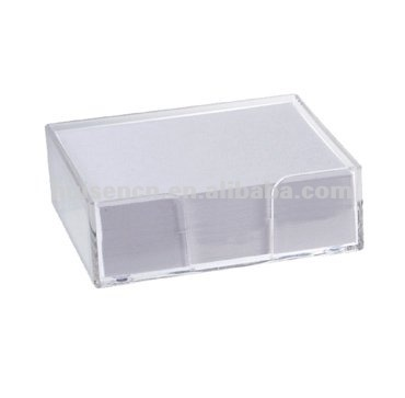 Cusotmizable clear notes holder,acrylic note holder