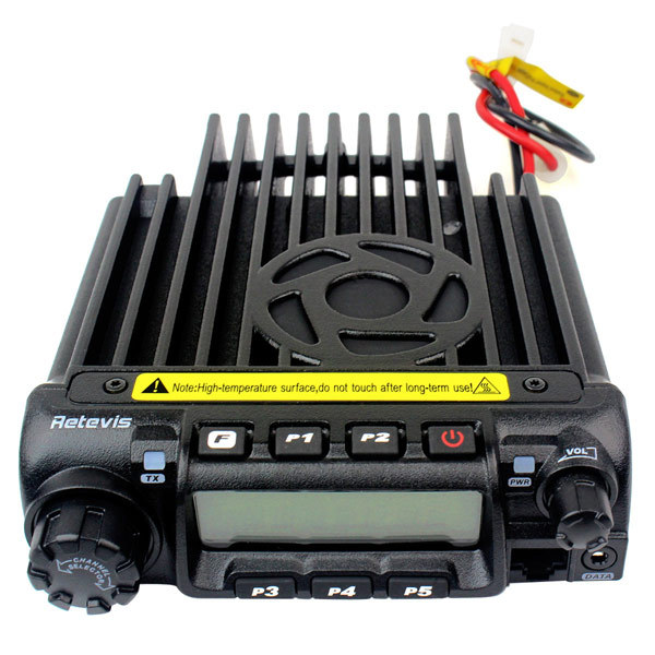 New Black VHF 220-260MHz 60W 200CH 50 CTCSS/1024 DCS 8 Group's Scrambler VOX Scan Retivis RT-9000D Mobile Car Transceiver