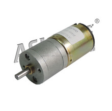 Hot sale ASLONG professional supplier of pure metal miniature gear box with motor high speed DIY geared motor