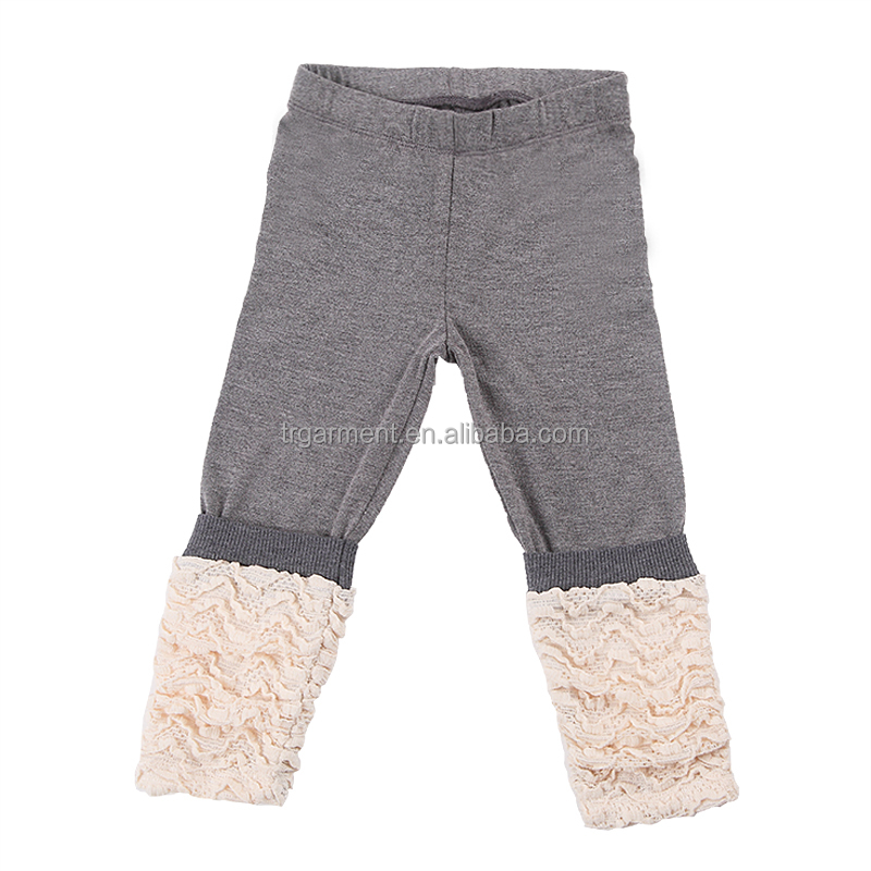Warm flannel kids pants trousers dress designs clothes for children