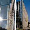 Building Material Colorful Glass Curtain Wall with Professional Design