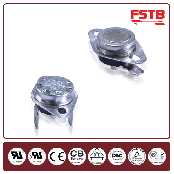 KSD301-V bimetal heating thermal switch from FSTB
