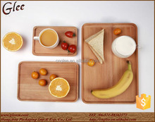 Serving Tray Food Plate Wooden Fruit Tray