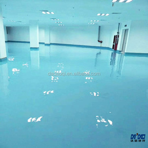 Great Quality High hardness Epoxy self-leveling floor paint for garage factory warehouse