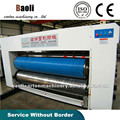 Manual operate corrugated cartons flexo printing and slotter