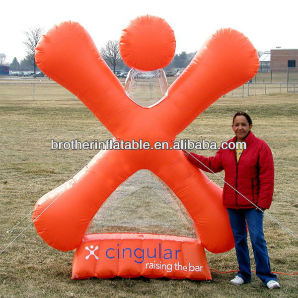 8'' Cingular Jack Inflatable Exhibition Stand