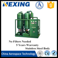 Hexing HGZL-S black diesel engine Oil Purifier, Transformer Oil Recondition Machine, Transformer Oil Purification