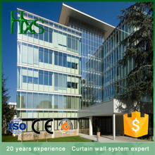 Professional Design Unitized Laminated Tempered Glass Structural Curtain Wall