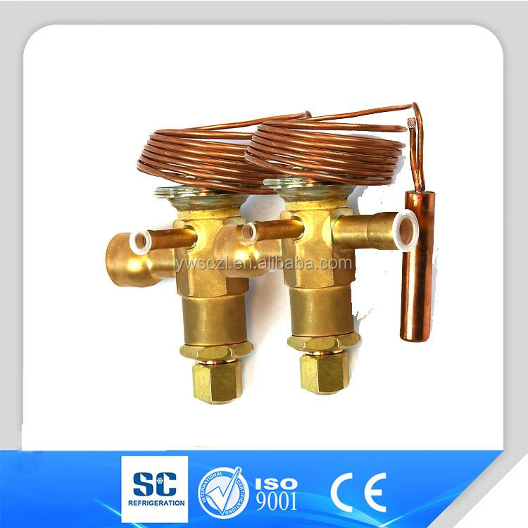 Dunan Brand thermal expansion valve for R22,R134A,R404A,R507,R407C,R410A