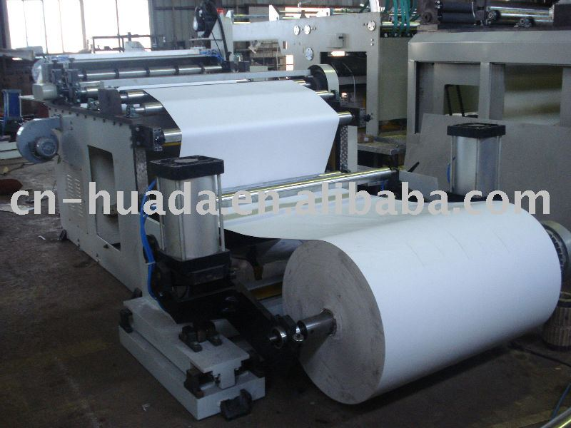HQJ-1100 Semi-automatic paper roll sheeter