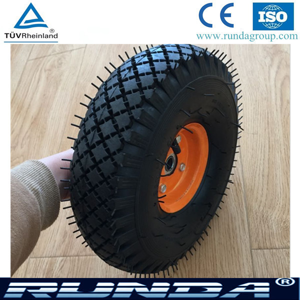 Rubber Wheel 4.00-4/ rubber wheels for boat trailer